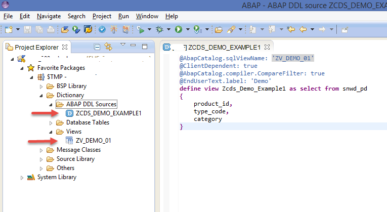 DDL Source and View