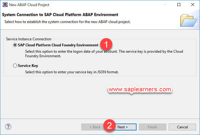 ABAP in Cloud project Step6